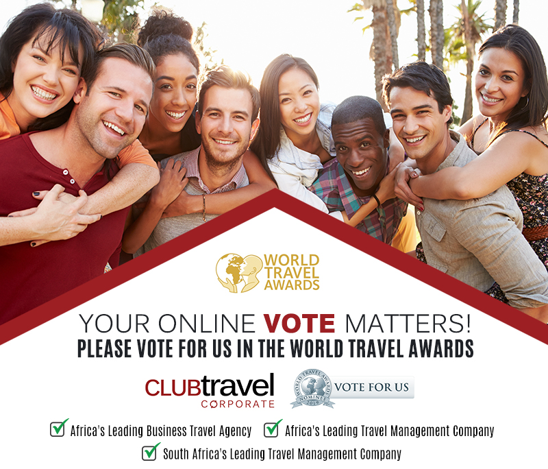 Club Travel Corporate Nominated in 2019 World Travel Awards