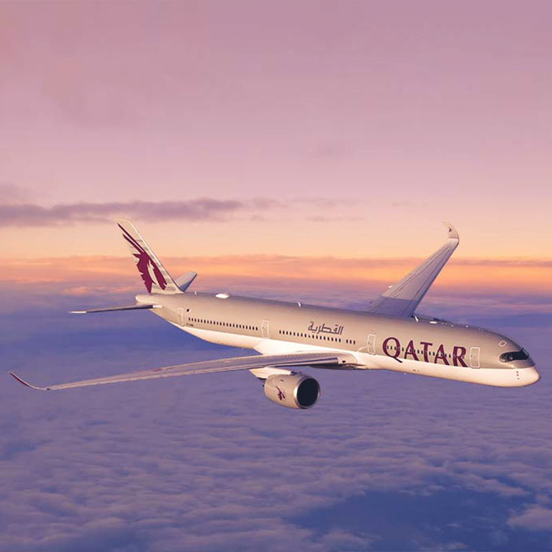 Up to 30% off with Qatar Airways!